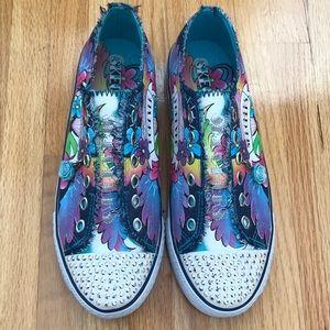 NWOT Sketchers Floral Sneakers